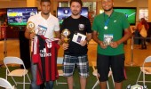 André Nascimento, o vencedor do 1º Torneio Top Player de FIFA 15, no Parque Shopping Sulacap/RJ
