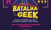 Regulamento da 1ª Batalha Geek de Just Dance, no TOP Center Shopping/SP